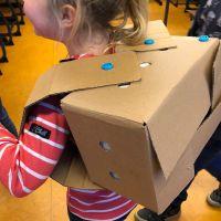 FamilieAtelier: Maak een robotpak 23-10-2021 14:00