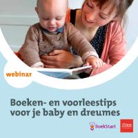 Webinar: Boeken- en voorleestips voor je baby en dreumes