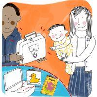 Inloopspreekuur: Voorlezen aan baby's