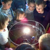 Op reis door het heelal, kinderlezing over sterrenkunde