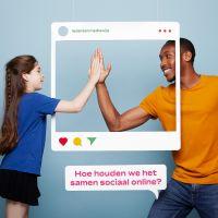 Online webinar: Samen sociaal online (voor ouders met kinderen in het basisonderwijs)