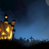Greenscreen: Thema Halloween