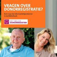 (Interactieve) lezing orgaan- en weefseldonatie