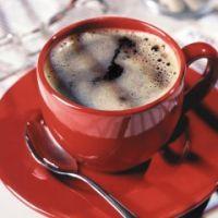 Rode koffietafel