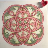 Workshop Caroline Adriaans: mandala tekenen